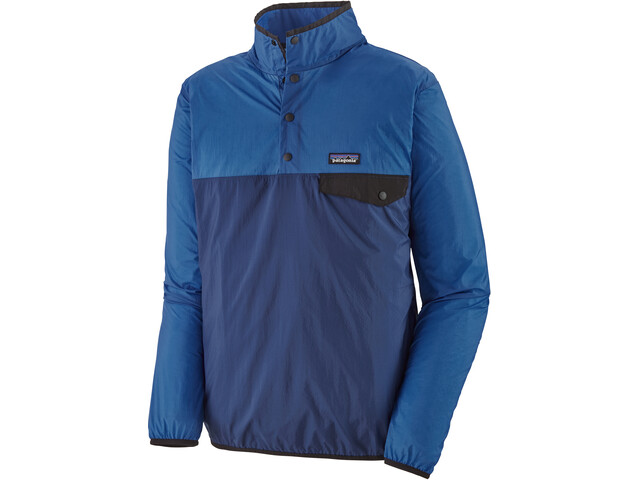 Patagonia Houdini Snap-T Pullover Hombre, superior blue